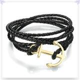 De Armband van het Leer van de Juwelen van het Leer van de Toebehoren van de manier (LB569)