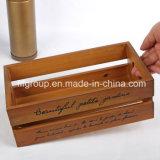 Естественные твердые античные деревянные шкафы вина