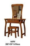 Apprettatrice di legno, insieme della mobilia della camera da letto, apprettatrice con lo specchio (6609)