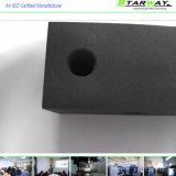 Peças fazendo à máquina do CNC da alta qualidade preta do óxido