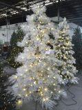 Albero di Natale a spirale di Popout con le punte e l'illuminazione affollate (OEM)