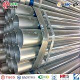 Tubo de acero galvanizado sumergido caliente en China