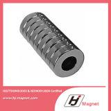 Fördernder heißer Verkauf SuperNdFeB Block-Magnet mit Loch N35m