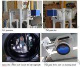 Машина маркировки лазера СО2 для древесины, Acrylic, пластмассы, кожи