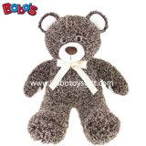 리본을%s 가진 가장 연약한 브라운 아기 장난감 곰은 선전용 선물있다