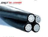 cable aéreo del ABC de la gota del servicio de cable del manojo 50 mm2