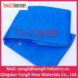 Tenda del tessuto tessuta PE blu impermeabile per qualsiasi tempo