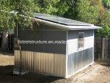Vertientes prefabricadas modulares portables del abrigo de la cabina de la casa