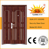 Ferro Door Security Steel Door Price Iron Door Pictures per Home (SC-S044)