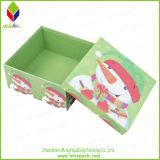 제품 서류상 선물 포장 비누 상자를 인쇄하는 꽃
