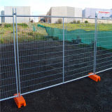 Heißes Dipped Galvanized Temporary Fencing mit Orange Feet Concrete Filled