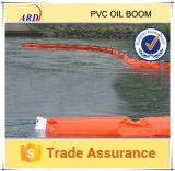 Boom do petróleo do PVC brilhante de Color e de Oil Resistant Solid Float