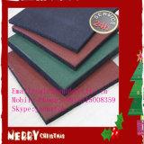 Plancher en caoutchouc/couvre-tapis en caoutchouc en caoutchouc de gymnastique de carrelages