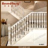 Европейский столб Railing лестницы литого алюминия способа типа (SJ-B040)