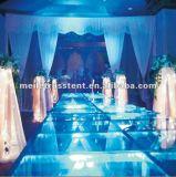 La qualité 2015 portative la plus chaude Wedding la grande étape extérieure en aluminium transparente en verre acrylique