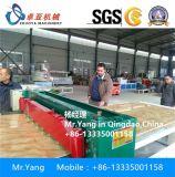 Linha de pedra artificial placa de pedra de mármore da placa do PVC do PVC que faz a máquina