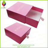 Luxuxfach-Art-Verpackungs-Papier-Geschenk-Kasten für Schmucksachen