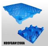 1200X800 mm Lichte Unidirectionele Plastic Pallet voor het Verschepen
