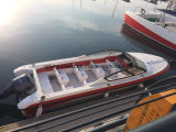 Barco de patrulha do motor da fibra de vidro de Aqualand 28feet 8.6m/ferryboat do passageiro/bote de salvamento (860)