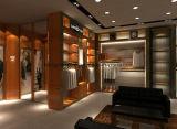공장에서 상한 서류 가방 또는 단화 또는 Menswear Shopfitting