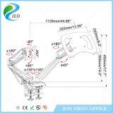 モニタおよびラップトップ(JN-GM224U-D)のための二重モニタアーム