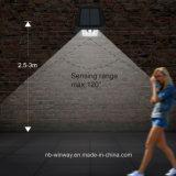 3개의 최빈값을%s 가진 방수 10LED 옥외 태양 벽 빛
