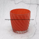 De promotie Hete Gift verkoopt de Kop van het Glas van de Houder van de Kaars voor het Gebruik van de Decoratie van het Huis