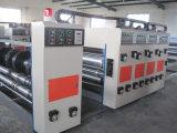 Gewölbtes Karton-Papierkasten-Drucken-kerbende Maschine