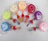 Lollipop 모양 100%년 면 케이크 수건 (YT-9922)