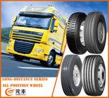 Pneu moyen et interurbain 295/80r22.5 de pneu radial de bus de camion de guide d'essieu