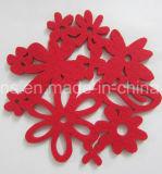 熱い販売のクリスマスの装飾ポリエステルフェルトのコースター(コースター29)