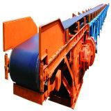 Langstreckenmassenmaterialtransport-Gebrauch-Gummibandförderer-System