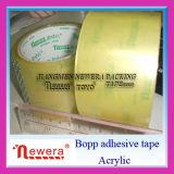 De Zelfklevende Verschepende Band van de Verpakking van de Gom BOPP Acrylice