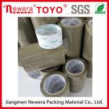 Première vente OPP Tan et bande de conduit de bande d'emballage de Brown pour le cachetage de carton