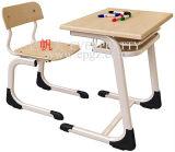 Single ergonómico Student Table Design para School