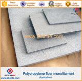 Añadido concreto 19 milímetros de los PP de fibra del acoplamiento