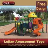 CE Fashion Style enfants Aire de jeux extérieure en plastique