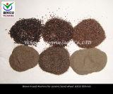 Het Bruine Gesmolten Oxyde van uitstekende kwaliteit van het Aluminium voor Vuurvast Materiaal