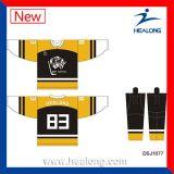Healong importierte Tinten-Digital-Textildrucken-Kugel-HockeyJerseys