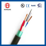Cable óptico aéreo de fibra de 240 bases de la potencia GYTS