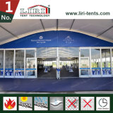 Grande tenda incurvata di cerimonia nuziale del partito per la ricezione esterna Corridoio di VIP