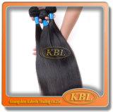 Prolonge normale de cheveu de Vierge brésilienne non transformée d'usine de 100%