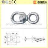 Gancho de leva rápido galvanizado tornillo del eslabón giratorio del ojo del acero de aleación