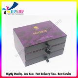 Caja de regalo de papel rígida del embalaje del diseño del hexágono