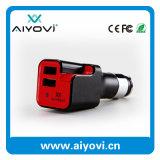 Chargeur de véhicule d'épurateur d'air de ports USB 2 de qualité pour le téléphone mobile