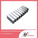 Blocco personalizzato alta qualità magnete permanente neodimio/di NdFeB per i motori