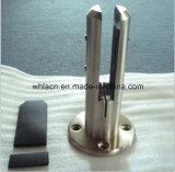 Ferragem de vidro do Spigot dos trilhos do aço inoxidável de Frameless (carcaça perdida da cera)