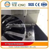 Wrc28Vの縦のタイプ合金の車輪の改修CNCの旋盤