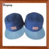 Sombrero tejido aduana de los paneles de Leporad 5 de la escritura de la etiqueta