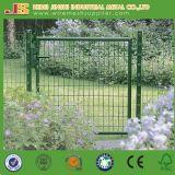 電流を通される100X100cm +粉の上塗を施してある金網の庭ゲート